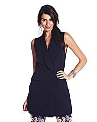 Ava By Mark Heyes Sleeveless Jacket