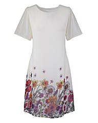 Ava By Mark Heyes Floral Tunic Dress