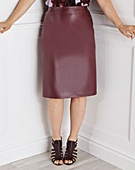 Ava by Mark Heyes PU Skirt