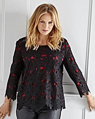 Ava by Mark Heyes Lace Blouse