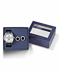 Tommy Hilfiger Watch & Cufflinks Set