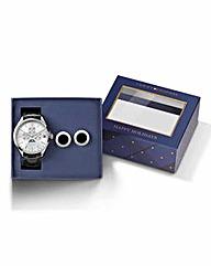 Tommy Hilfiger Watch & Cufflinks Set