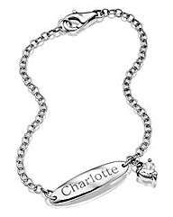 Personalised Sterling Silver ID Bracelet
