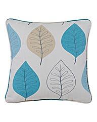Modern Leaf Filled Cushion