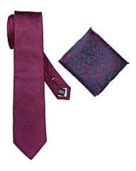 Williams & Brown London Floral Tie Set