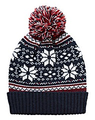 Williams & Brown Luke Fairisle Beanie