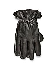 Black Label Leather Gloves