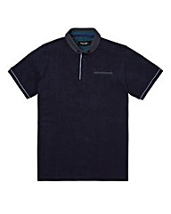 Black Label Penny Collar Trim Polo R