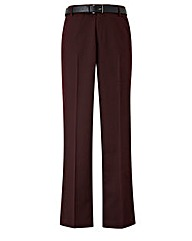 Black Label Slim Belted Trouser 33 inch