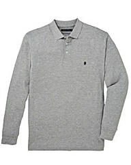 French Connection Light Grey Polo