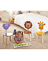 Animal Lion Kids Chair