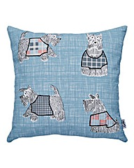 Lorraine Kelly Scottie Dog Cushion