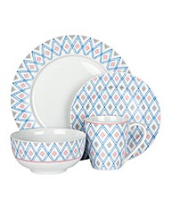 Portmeirion Loch Lomond 12pc Dinner Set