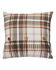 Forest Glen Check Cushion