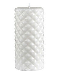 Lorraine Kelly Carved Pillar Candle