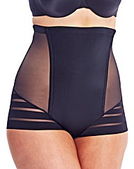 Maidenform Sleek Stripes Hi Waist Brief