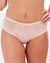 Liz McClarnon Geo Embroidered Brief