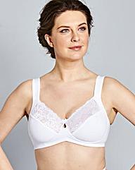 Bestform Feminine Comfort White Bra