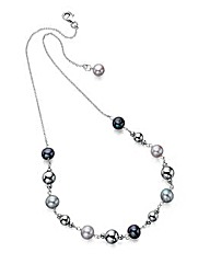 Multi Pearl Necklace