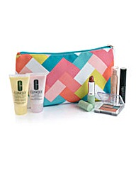 Clinique Tyler Dawson Cosmetic Bag Set