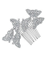 Jon Richard Crystal Hair Comb