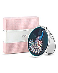 Jon Richard Peacock Compact Mirror