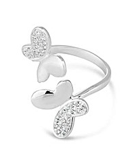 Simply Silver Butterfly Ring
