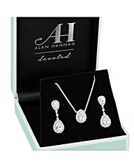 Alan Hannah Crystal Drop Set