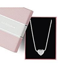 Jon Richard Crystal Heart Necklace