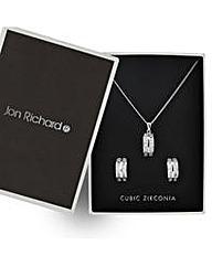 Jon Richard Cubic Zirconia Jewellery Set