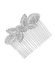 Jon Richard Crystal Bow Hair Comb