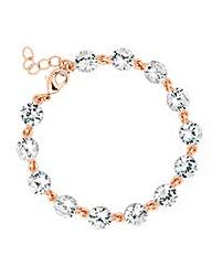 Jon Richard Rose Gold Link Bracelet