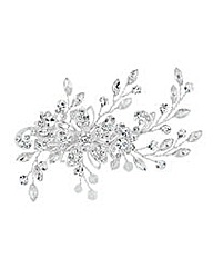 Jon Richard Vine Crystal Hair Slide