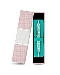 Jon Richard Crystal Pen And Pouch