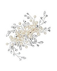 Jon Richard Pearl Floral Hair Slide