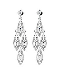 Jon Richard Peardrop Chandelier Earring