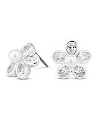 Jon Richard Daisy Stud Earring