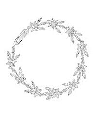 Alan Hannah Crystal Flower Bracelet