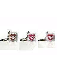 Set of 3 Hard Candy Lip Glosses