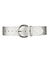 Metallic Chunky Waist Belt