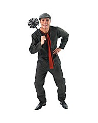 Mens Disney Mary Poppins Bert Costume
