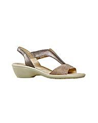 Van Dal Barbara  Taupe Metallic Sandal