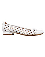 Van Dal Mason  Bright White Shoe