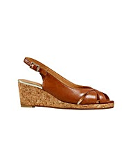 Van Dal Middleton  Tan Sandal