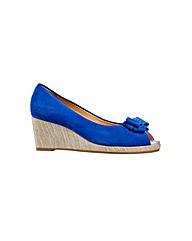Van Dal Unity  Cobalt Suede Shoe