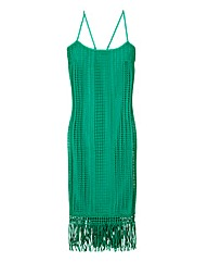 Fringed Strappy Dress