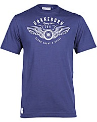 Brakeburn Winged Wheel Tee