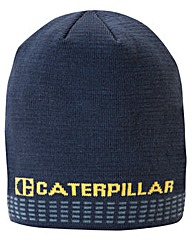 Caterpillar Rally Knit Beanie