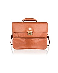 Woodland Leather Satchel Briefcase