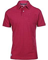 Brakeburn Red Pique Polo